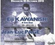 Stage E. KAWANISHI / JL PAGE - Dimanche 18 octobre