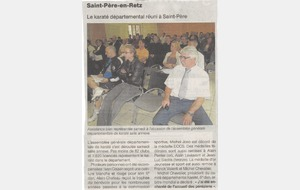 OUEST FRANCE - 21 SEPTEMBRE 2011 - A.G DEPARTEMENTAL - SAINT PERE EN RETZ